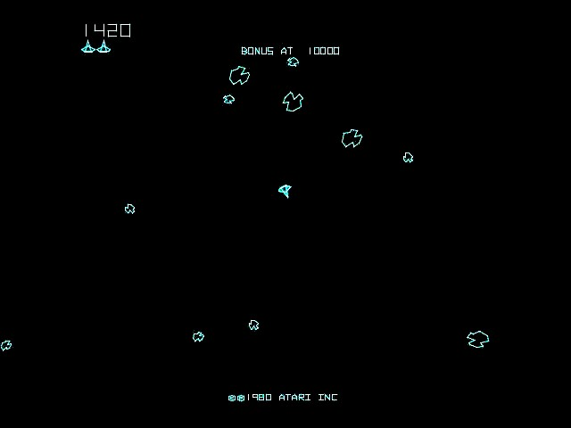 Asteroids Deluxe Screen - Pics about space